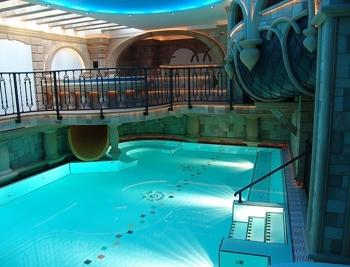 Bazén na šutce v praze 8